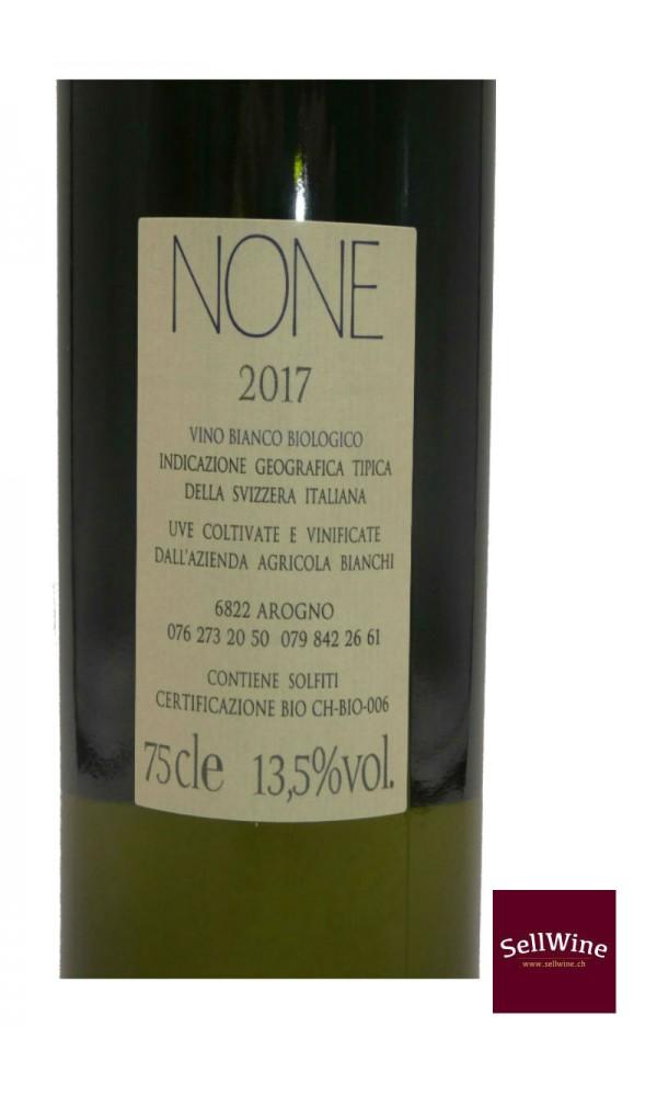 SellWine / Azienda Bianchi NONE Bianco Biologico Barricato IGT Svizzera Italiana Bio Suisse 2017-Etichetta3