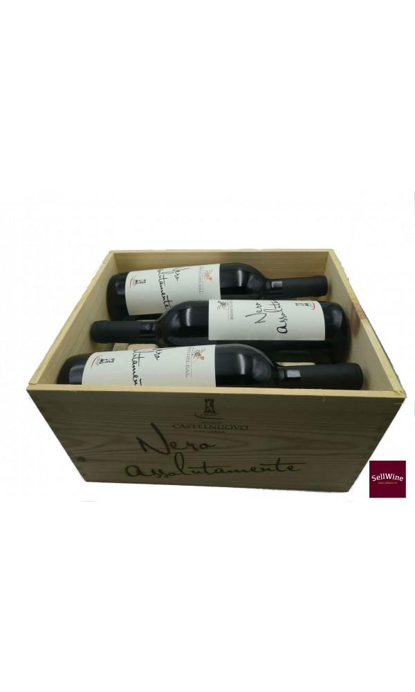 Sellwine-Cantina Castelnuovo del Garda Bosco Del Gal Nero Assolutamente Merlot Veneto IGT 2013-Box2