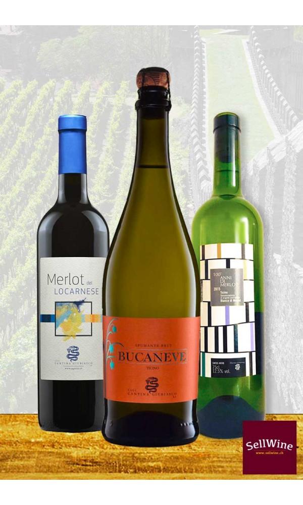 SellWine ti consiglia tre vini eccellenti della Cantina Giubiasco