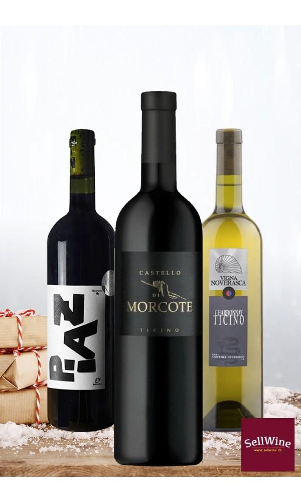 Sélection vins tessinois