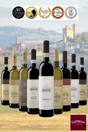 SellWiine / Tre Donne / L'intera selezione di Vini Piemontesi